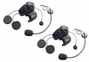 1. Sena SMH10-11 Motorcycle Bluetooth Headset - Motorcycle Earbuds