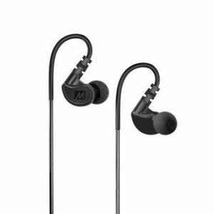 4. MEE audio M6 Memory Wire In-Ear Wired Sports Motorcycle Earbuds