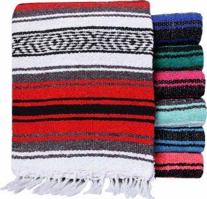 5. El Paso Designs Mexicans Yoga Blanket