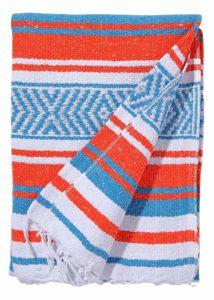 6. El Paso Designs Mexicans Yoga Blanket
