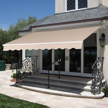 1. Best Choice Products 98x80in Retractable Awning