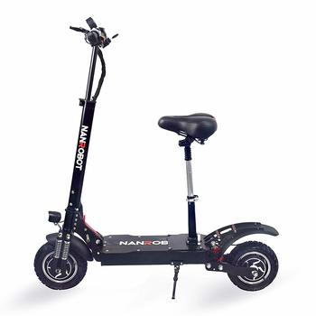 1. NANROBOT D4+High Speed Electric Scooter -Portable Folding