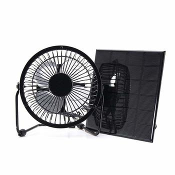 10 NUZAMAS 3W 6V Solar Panel Powered Mini Fan