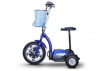 10. E-Wheels, EW-18 Stand n Ride Scooter 3-Wheel - Blue