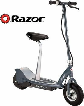 2. Razor E300S Seated Electric Scooter