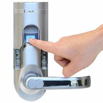3. iTouchless Bio-Matic Fingerprint Door Lock
