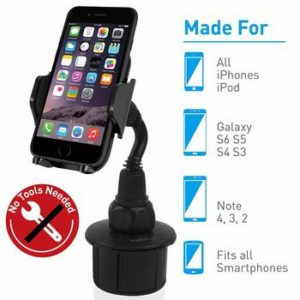 4. Macally Adjustable Automobile Cup Holder