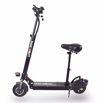 4. NANROBOT X4 8 350W Motor Powerful Adult Electric Scooter Lightweight
