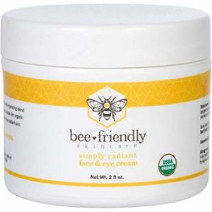 5. BeeFriendly Face and Eye Cream, 2 oz - Korean Eyes Creams