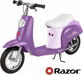 5. Razor Pocket Mod Miniature Euro Electric Scooter