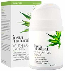 6. InstaNatural Eye Gel Cream - Korean Eyes Creams 1.7 oz