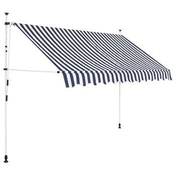 6. Tidyard Manual Retractable Sun Shade Patio Awning