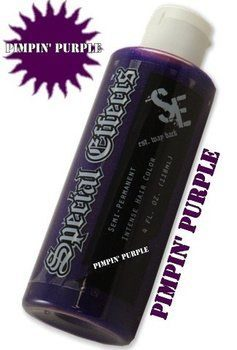 7. Special Effects Purple Hair Dyes