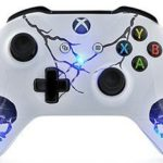 9 Skulls Blue Xbox One Modded Controller