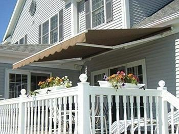 9. MCombo 10x8 Feet Manual Retractable Awning