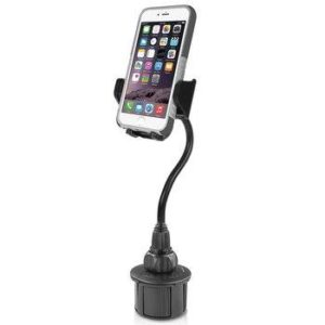 Upgraded Adjustable Phone Holder Phone Mount for iPhone 11 Pro//XR//XS Max//X//8//7 Plus//6s SE Samsung Galaxy Car Phone Cup Holder TDTOK
