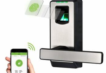 9. ZX Teco Electronic Smart Lock Biometric Fingerprint Door Lock