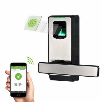9. ZX Teco Electronic Smart Lock Biometric Fingerprint Door Locks