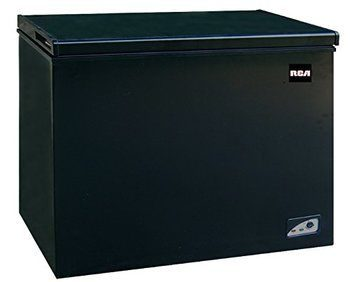 1 Cubic Foot Chest Freezer, Black