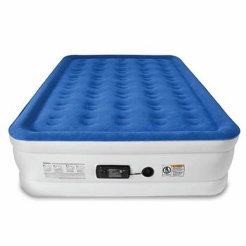1. SoundAsleep Dream Series Queen Air Mattress - with Internal High Capacity Air Pump