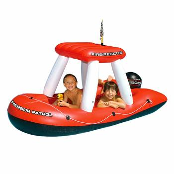 1. Swimline Fireboat Inflatable Pool with Squirter