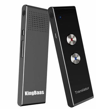 1.KingBaas Smart Language Translator Device Handheld Portable Real-Time Instant