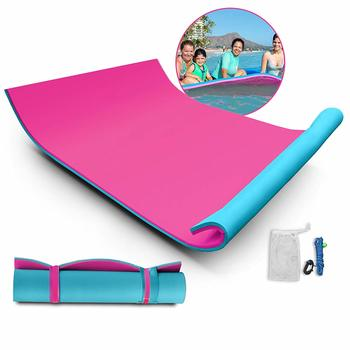 10. Popsport Lily Float Foam Island, Floating Water Mat for Adults and Kids