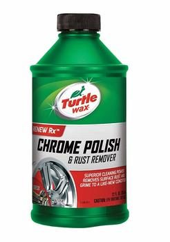 10. Turtle Wax T-280RA Chrome Polish & Rust Remover - 12 oz.