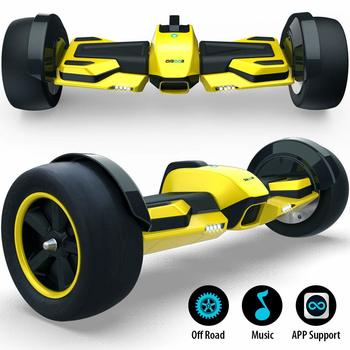 10.Gyroor G-F1 Hoverboard, 8.5-inch Off Road Hover Board with LED Lights
