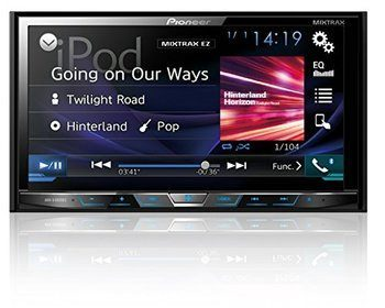 11. Pioneer AVH-X4800BS 7-Inch Motorized DVD Receiver