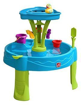 11. Step2 Summer Showers Splash Water Table Tower Kids Play Table- 8poece Accessory Set