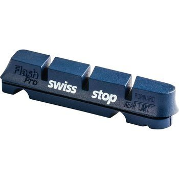 11. Swiss Stop FlashPro Original Black Brake Pads - Set of 4