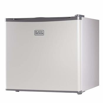 12. BLACK+DECKER BUFK12-watt Upright Freezer, 1.2 Cubic Feet, Single Door, White