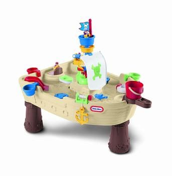 2. Little Tikes Anchors Away Pirate Ship Water Table - Water Table for Kids