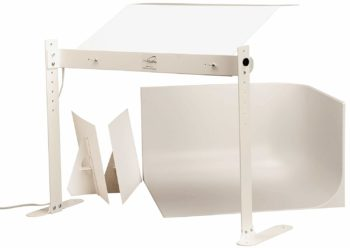 2. MyStudio MS20 Professional Photo Studio Lightbox Tabletop Kit with 5000K Lighting