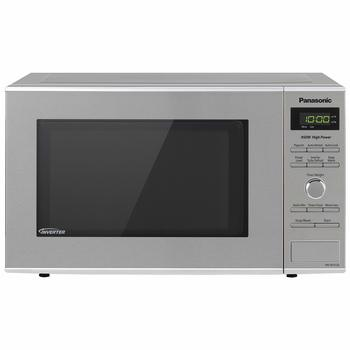 2. Panasonic Microwave Oven NN-SD372S 0.8 Cu. Ft Compact Microwave Ovens Stainless Steel