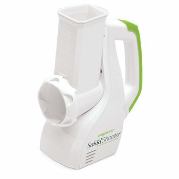 2. Presto 02910 Electric Salad Shooter Slicer Shredder