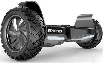 2.EPIKGO Self Balancing Hoverboard - All-Terrain 8.5-InchAlloy Wheel, 400-W