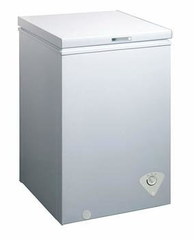 3. midea WHS-129C1 White Chest Freezer, Single Door -3.5 Cubic Feet