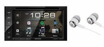 4. Kenwood DDX26BT 6.2-inch In-Dash Double Din Touchscreen Car Stereo