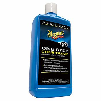 4. Meguiar's M6732 Marine RV One Step Compound, 32 oz