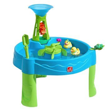 4. Step2 Duck Dive Water Table for Kids Tower plus 5-Pc Accessory Set