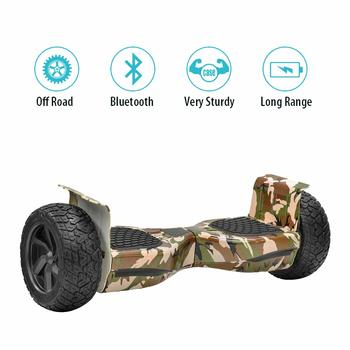 5. NHT Hoverboard – 8.5-Inch Wheels, All Terrain Rugged Off-Road Electric