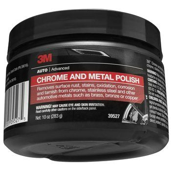 6. 3M 39527 Chrome and Metal Polish - 10 oz.