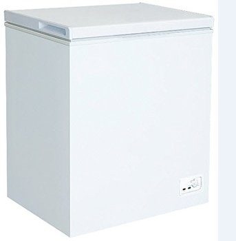 6.  RCA 5.1 Cubic Foot Chest Freezer, White