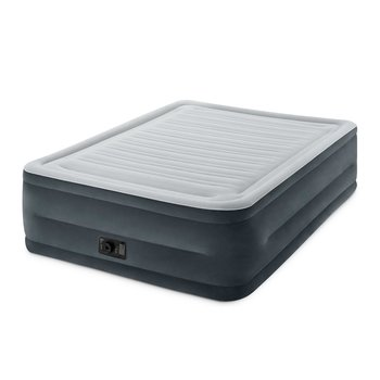 7. Intex Comfort Plush Dura-Beam Elevated Airbed with Built-in Air Pump