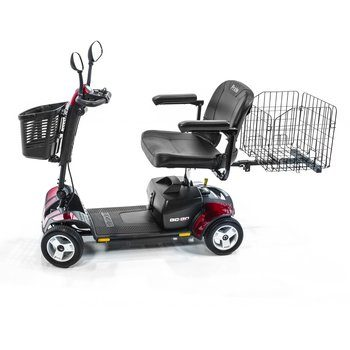 7. Pride Mobility Go Sport 4 Wheel Travel Pride Electric Scooter Plus Rear Basket