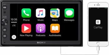 7. Sony XAV-AX100 6.4-Inch Car Android Auto Media Stereo Receiver with Bluetooth