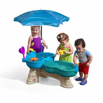 7. Step2 Spill & Splash Seaway Kids Water Table Dual-Level Play Large Table - Water Table for Kids