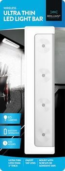 9. Brilliant Evolution Wireless Ultra Thin LED Light (BRRC116)